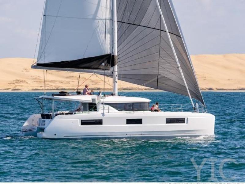 rent a catamaran lagoon 46 kornati new