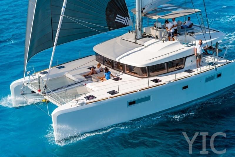 rent a catamaran lagoon 52 f kaŠtela croatia 2021 new