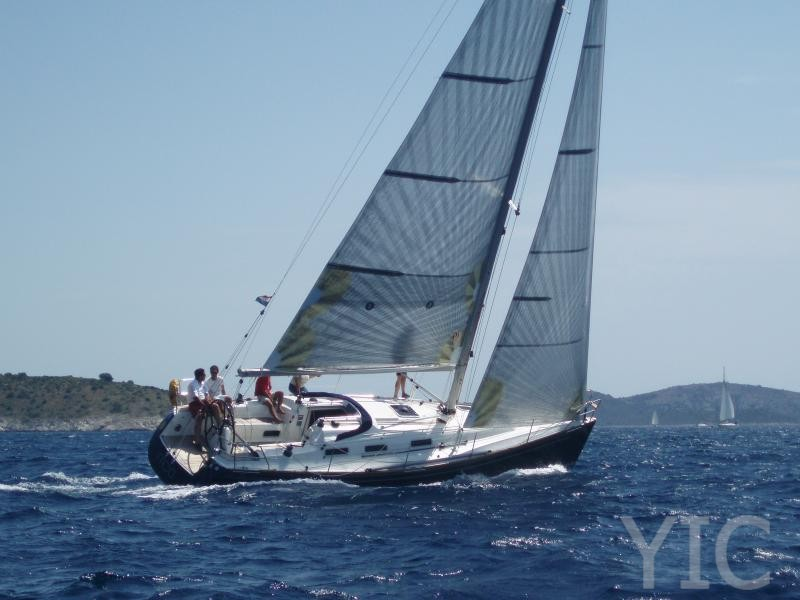 salona 37 sailing yacht in croatia charter on yachtsincroatia