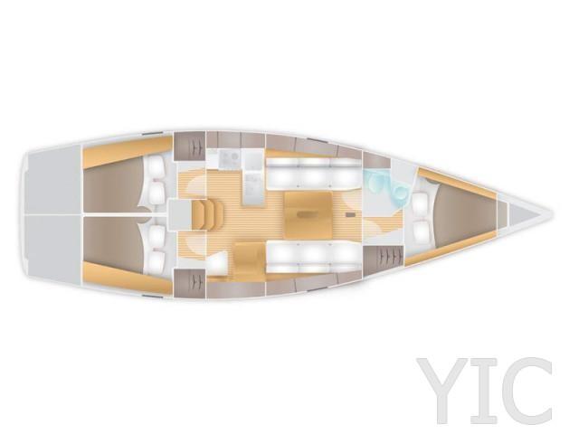 salona 38 sailing yacht in croatia charter on yachtsincroatia