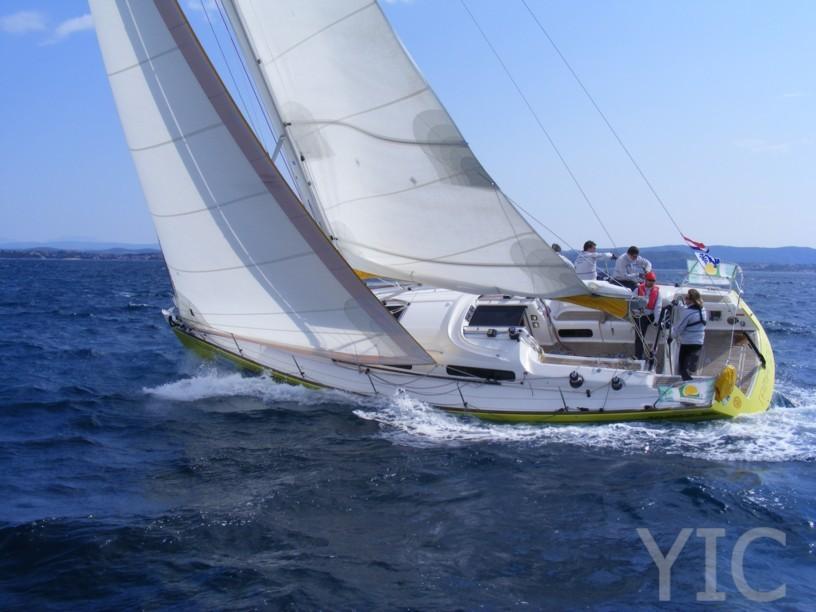salona 42 sailing yacht in croatia charter on yachtsincroatia