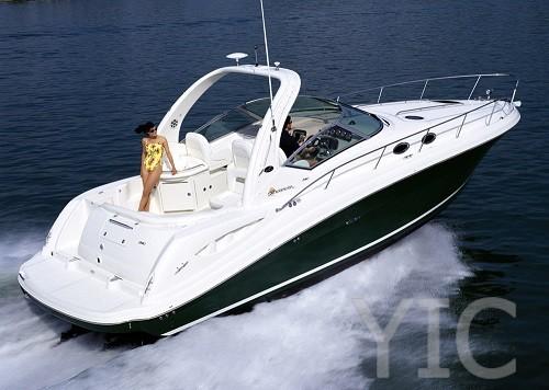 sea ray 340 motor yacht in croatia charter on yachtsincroatia