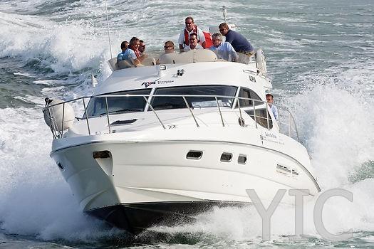sealine f42 motor yacht in croatia charter on yachtsincroatia