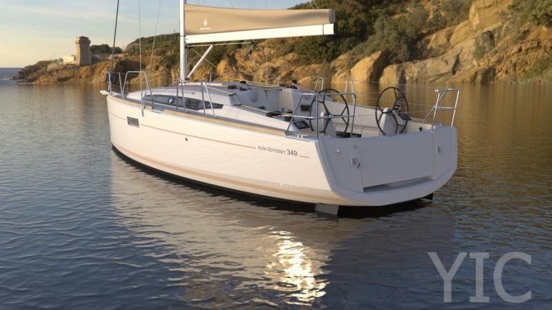 sun odysey 349 yachts in croatia charter