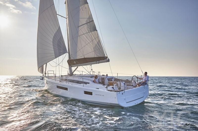 sun odysey 410 charter yachts in croatia