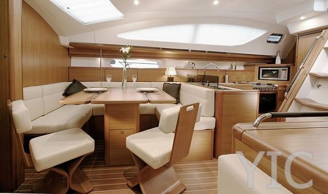 sun odyssey 45 sailing yacht in croatia charter on yachtsincroatia