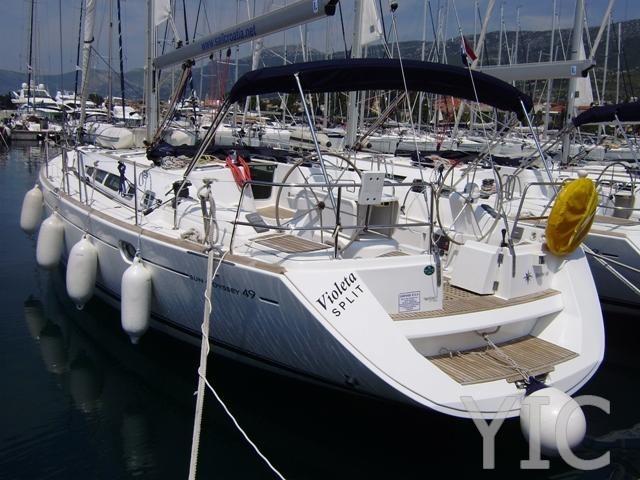 sun odyssey 49 sailing yacht in croatia charter on yachtsincroatia