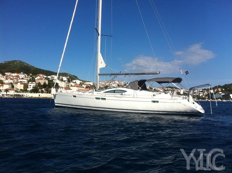 sun odyssey 54 ds sailing yacht in croatia charter on yachtsincroatia