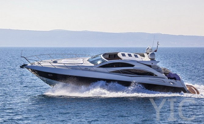 sunseeker predator 62 luxury yacht in croatia charter on yachtsincroatia