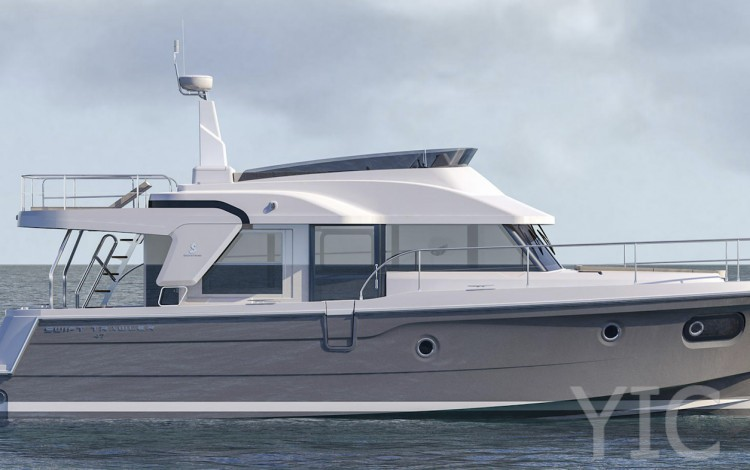 swift trawler 47 charter yachts in croatia dalmatia