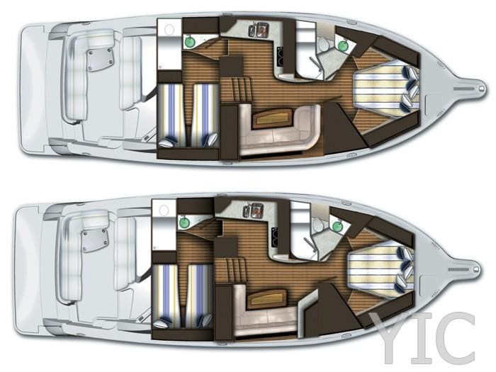 tiara sovran 4300 motor yacht in croatia charter on yachtsincroatia