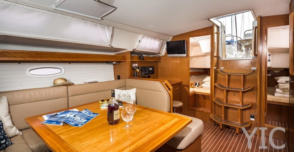 varianta 44  sailing yacht in croatia charter on yachtsincroatia