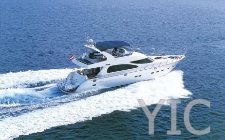 yaretti 2110 motor yacht in croatia charter on yachtsincroatia